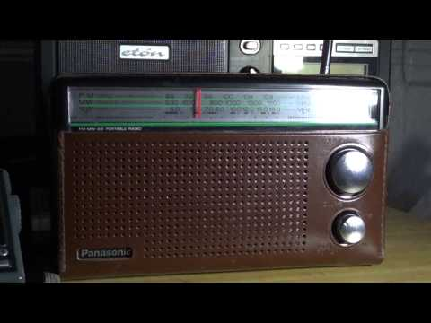 Panasonic RF-562D on China radio international telescopic