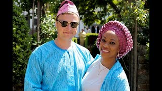 Omolola Jemibewon's Grand Nuptial to a Stunning British Army Officer