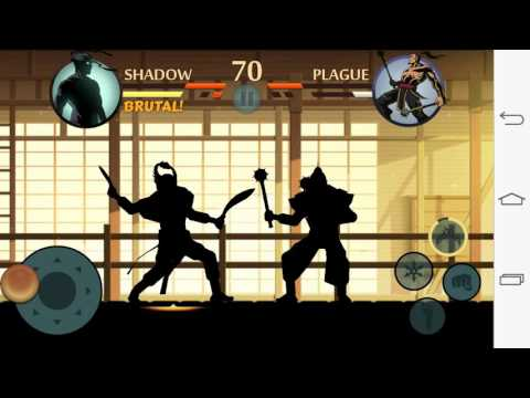 Shadow fight 2 - kid game - Ninja movie