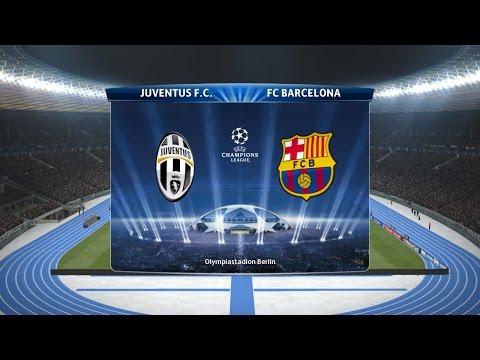 Pes 2015-Juventus Vs Barcellona Finale UEFA Champions League Pronostico 06/06/2015 ITA HD