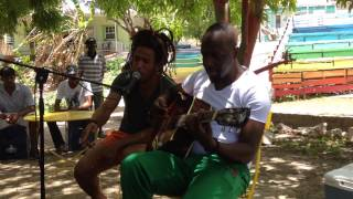Wyclef Jean on Curacao, playing music with locals! Curacao North Sea Jazz 2015.