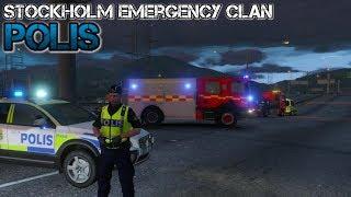 Stockholm Emergency Clan Polis #9 Olycka Två Gånger Om