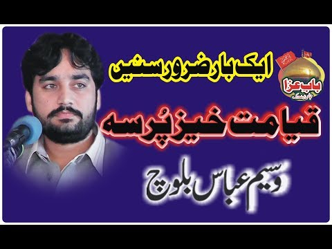 Zakir Waseem Abbas Baloch 4 March 2019 Sheikhupura (www.baabeaza.com)