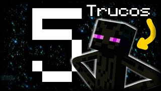 TOP 5 TRUCOS CON EL ENDERMAN EN MINECRAFT PE