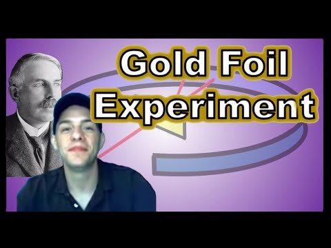 Ernest Rutherford's Gold Foil Experiment - Atomic Structure