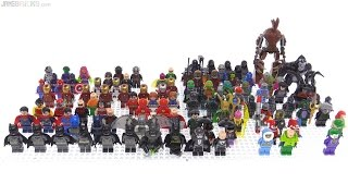All of my LEGO Super Heroes  Comic minifigs 100 fi