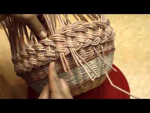 Бумажные трубочки для плетения елена тищенко