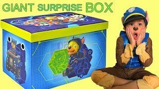 HUGE Paw Patrol Toys Surprise Box Nickelodeon Opening New Paw Patrol Toys With TBTFUNTV