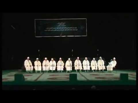 المجموعة العباسية للأمداح النبوية بمراكش برئاسة الفنان الحاج محمدعزالدين - دلائل الخيرات