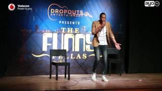 Idris Sultan alivyovunja mbavu watu kwenye Funny Fellas