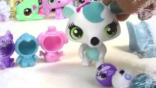 Snow Day - Littlest Pet Shop Chilly Weather Fun Playset LPS Rolleroos