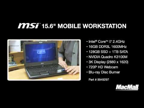 MSI Mobile Workstation Overview - MacMall