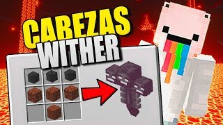 👉 ¡VAMOS A POR LAS CABEZAS WITHER! 👈 SERIE MINECRAFT PE 1.6