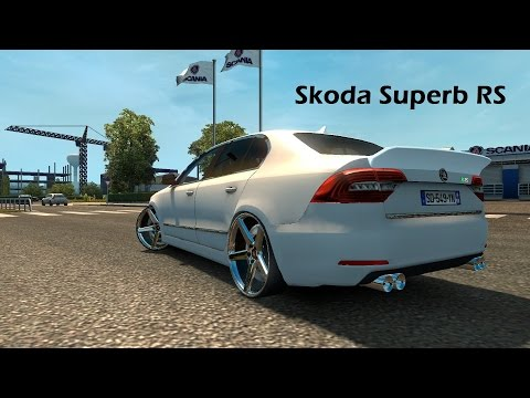 Skoda Superb RS - Euro Truck Simulator 2 V1.23 [ETS2]