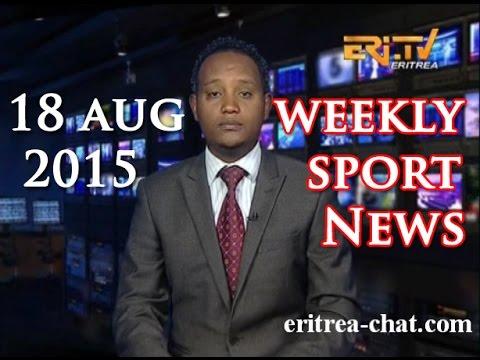 Eritrean Weekly Sport News - 18 August 2015 - Eritrea TV