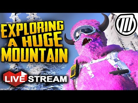 STEEP Gameplay | Exploring a HUGE Mountain + All Sports! | Live Stream