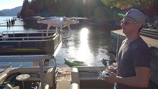 30TH BIRTHDAY SURPRISE VLOG!  LAKE MERWIN DJI PHANTOM 4 DRONE