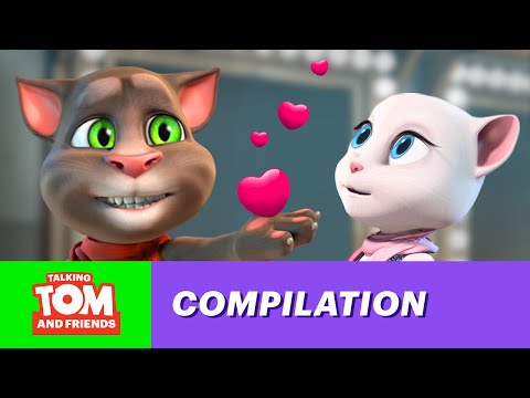 Talking Tom and Friends - Top 5 (Al)most Romantic Scenes