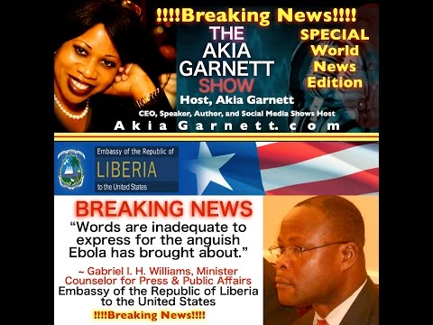 BREAKING NEWS - Liberian President Addresses World Bank & IMF about Ebola Crisis