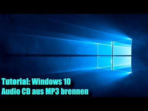 Windows 10 Musik CDs brennen mit MP3s (Windows Media Player Tutorial)