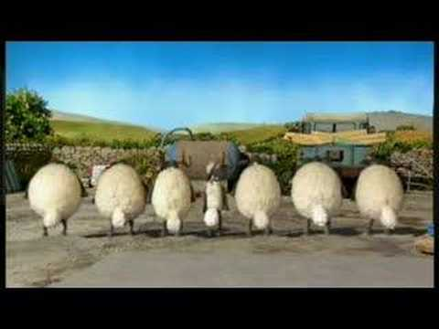 Shaun The Sheep & Flock Dance
