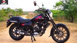 Bajaj Avenger Street 220 ABS First Ride Review Braking Test #Bikes@Dinos