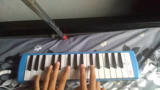 Kunci Pianika Lagu Scimmiaska Lelah .. Mudah Belajar Pianika ..