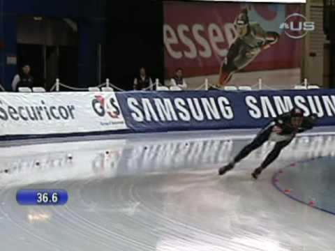 Shani Davis gets 1000m silver from Universal Sports