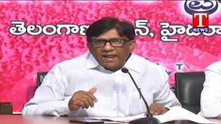 TRS MP Vinod Fires on BJP Leader Ram Madhav | Telangana  Telugu