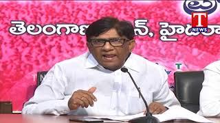 TRS MP Vinod Fires on BJP Leader Ram Madhav | Telangana  Telugu