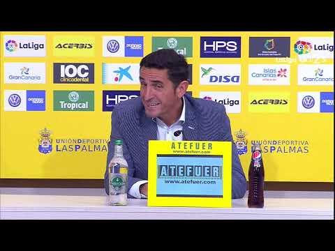 Rueda de prensa de Manolo Jiménez tras el UD Las Palmas vs Granada CF (2-2)