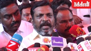 Thirumavalavan about Nandhini's Death in Ariyalur