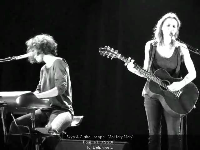 Solitary Man Cover - Johnny Cash by Claire Joseph amp Skye - Paris - FГvrier 2011