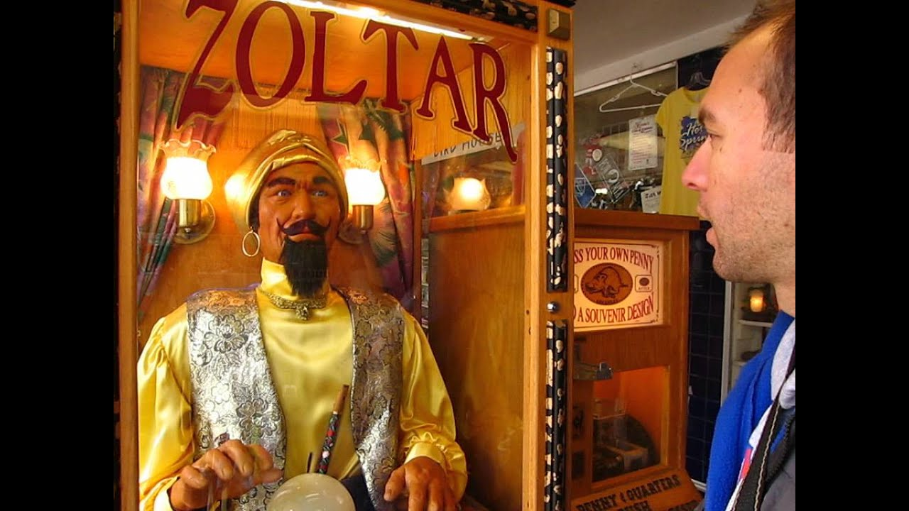 Zoltar Speaks Fortune Teller From Big Tells Me THE FUTURE