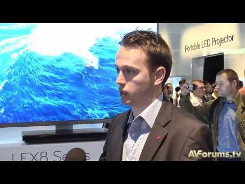 IFA 2010 - LG LEX8 & LEX9 Nano 3D HDTVs
