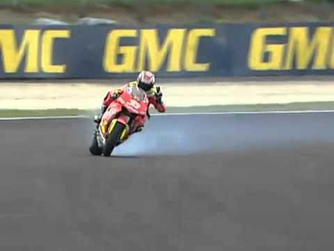 DRIFT - Phillip Island 2006 MotoGP Race Melandri - YouTube