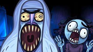 Troll Face Quest Horror Walkthrough All Level Win Fail Super Funny Best Moments Gameplay