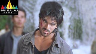 Chirutha Movie Back to Back Fight Scenes | Ram Charan, Ashish Vidyarthi | Sri Balaji Video