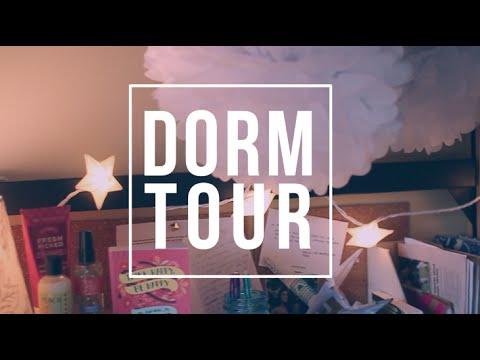 COLLEGE DORM ROOM TOUR | hellokaty