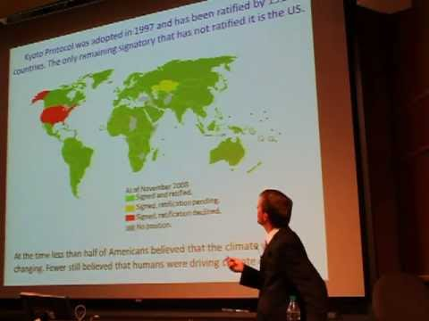 Chris Sabine - The Changing Social Climate of Global Warming and Ocean Acidification