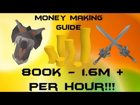 RuneScape P2P EoC Money Making Guide 600k – 1.6m + per hour 2013 Commentary
