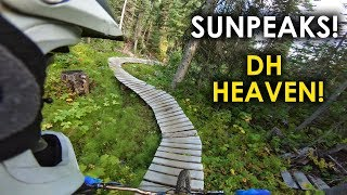 Sunpeaks has AMAZING TECH TRAILS! | Jordan Boostmaster