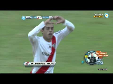 Union 2 vs River Plate 2 (fecha 14 del torneo final 2013)