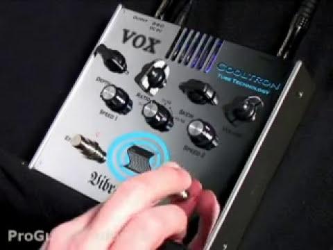 Vox Vibravox Vibrato Pedal
