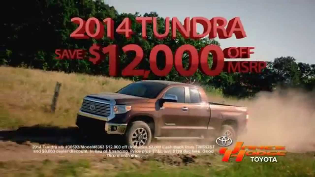 Looking For A New 2014 2015 Toyota Tundra Or Camry