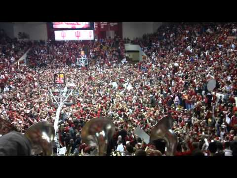 Indiana Fans Sing Hey Baby After Beating Kentucky