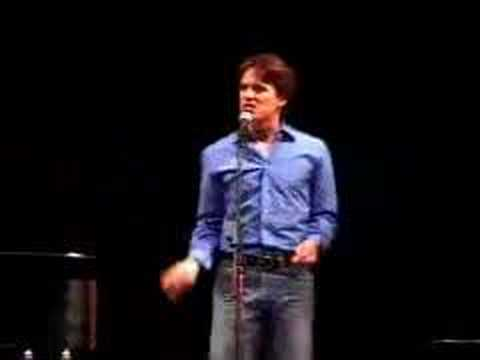 John Barrowman cabaret at Kennedy Center part 4