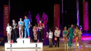 Siegerehrung World Masters Lyon 2015