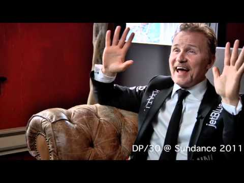 DP/30 @ Sundance: Director/star/pitchdude Morgan Spurlock (title too long for YouTube)