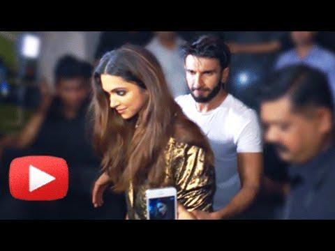 (VIDEO) Ranveer Singh Protects Deepika Padukone From Crazy Fans   Jitesh Pillai Birthday Party